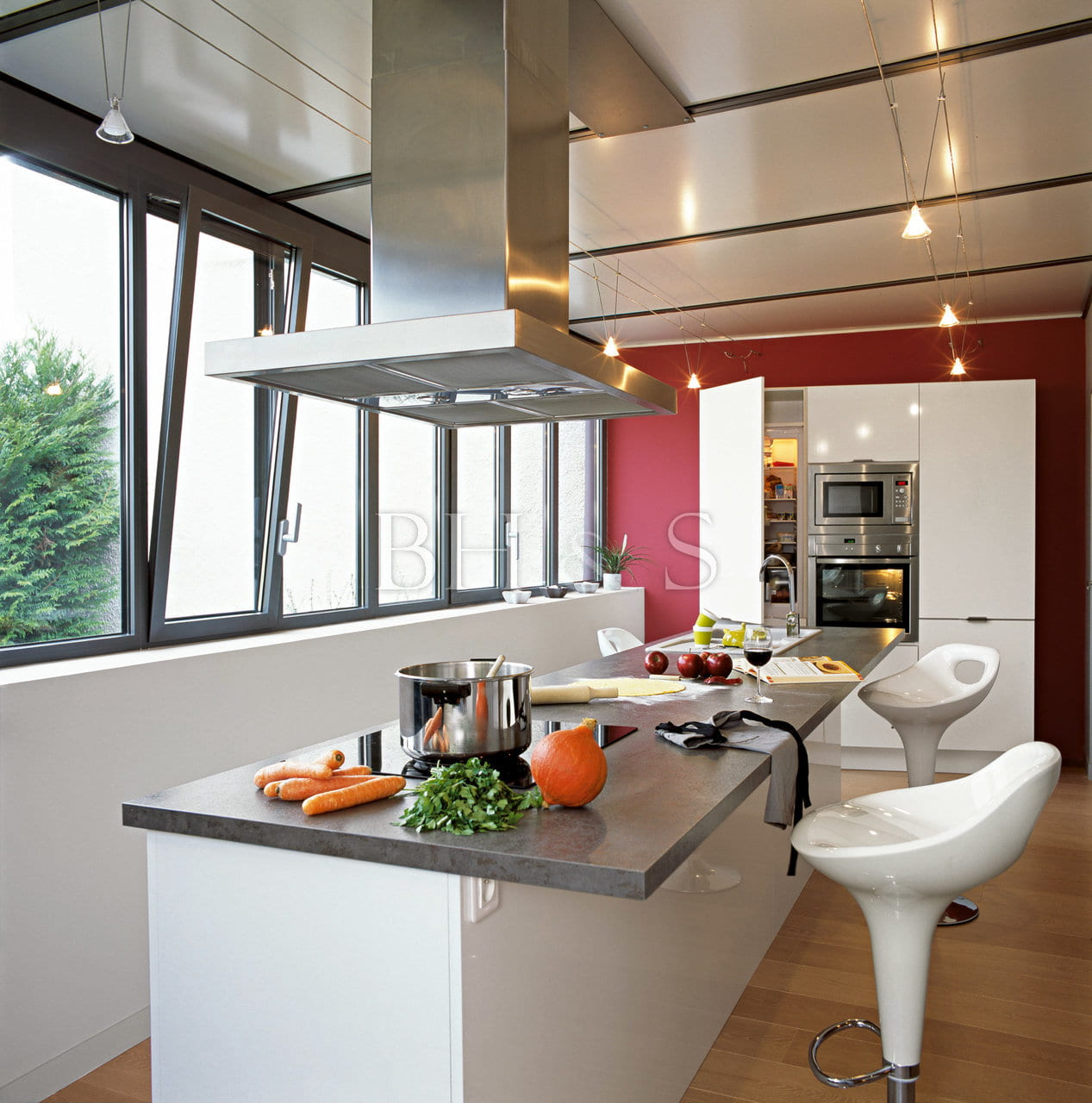 INTERIOR ARCHITECTURE PROJECT - NEW BUILT KITCHEN - MEURSAULT