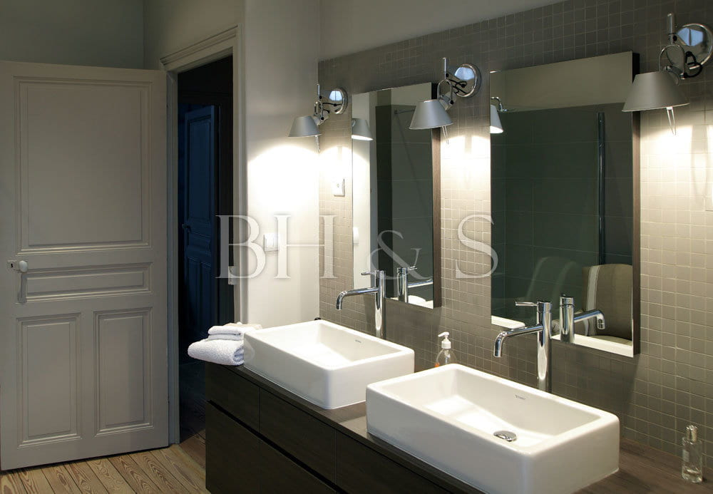 Bathroom project - Interior decoration - Interior architecture - Layout