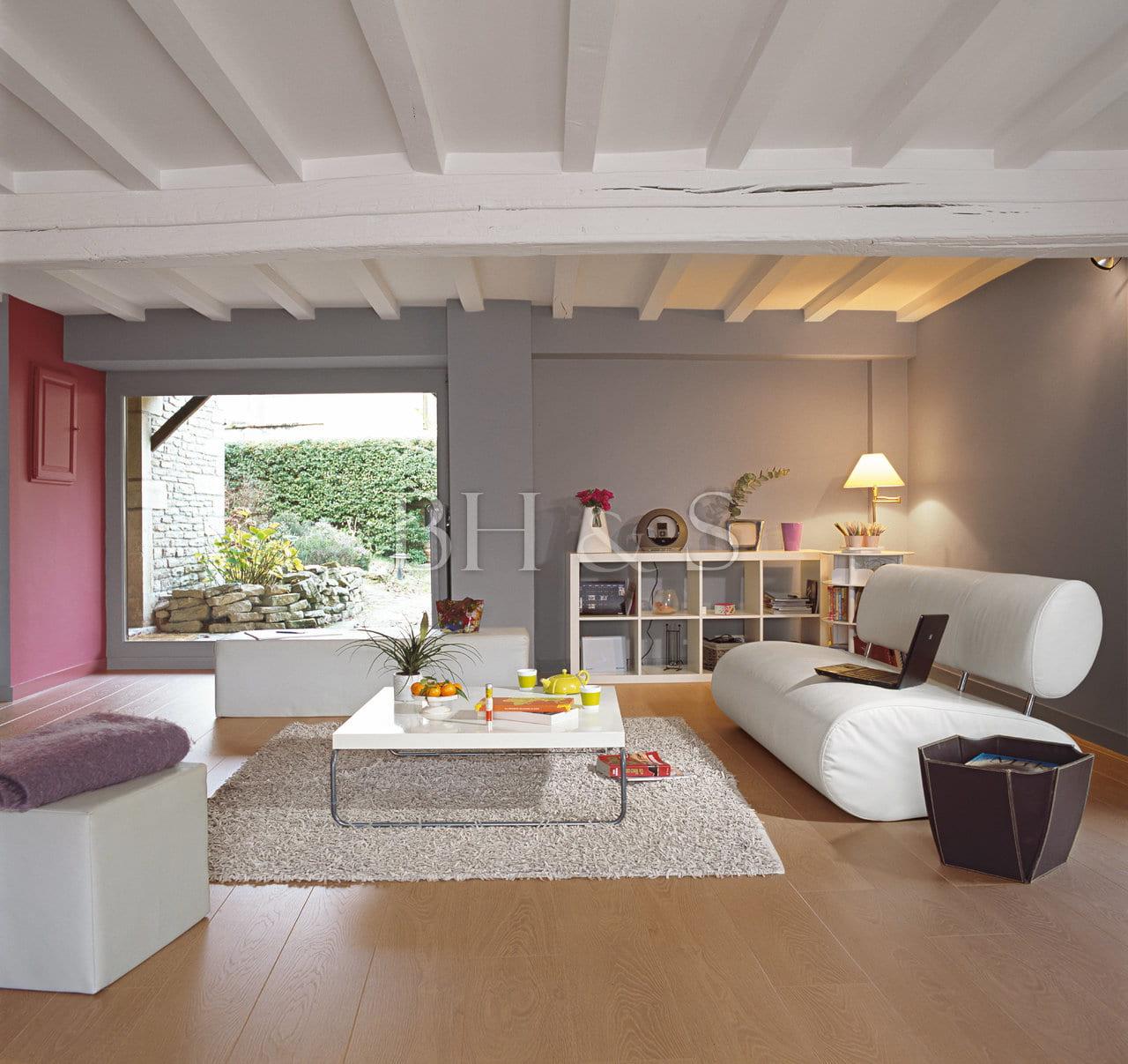 Projet global rénovation maison de village - Colin - Burgundy Home ...