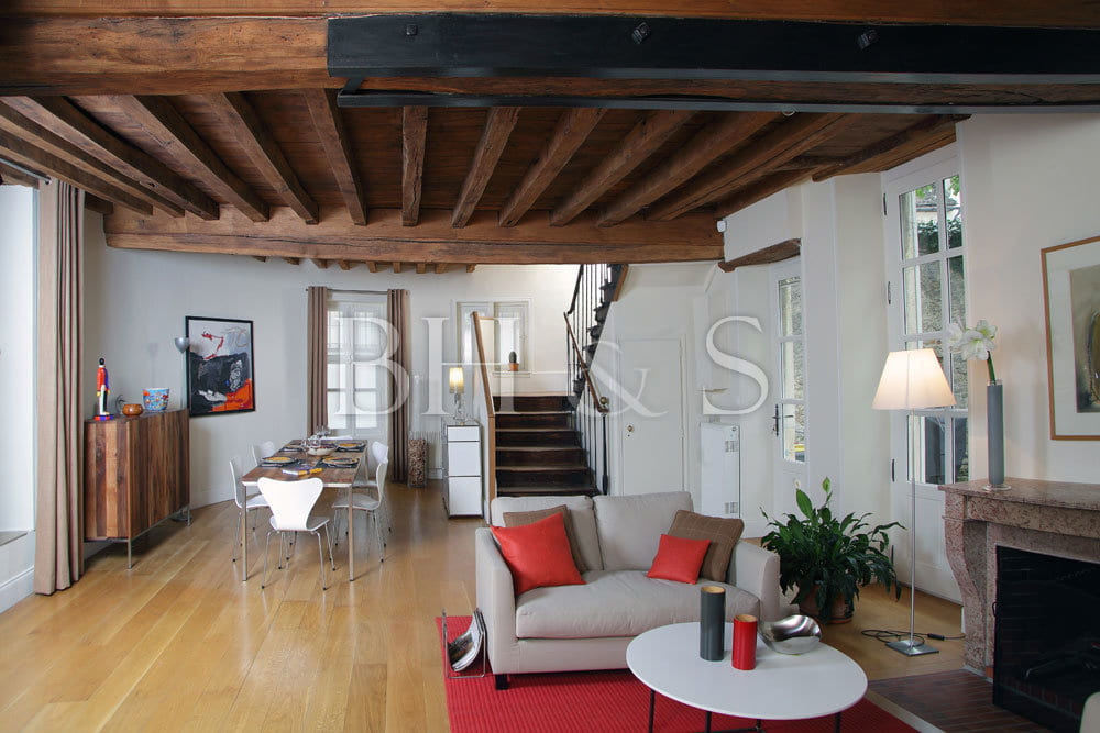Projet global r novation maison de village colin - Idee renovation maison ancienne ...